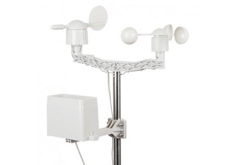 Kit estación meteorológica con mástil
