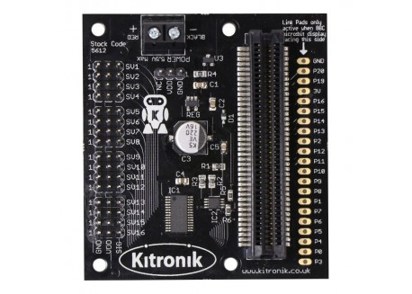 Micro:Bit Servo Driver 16