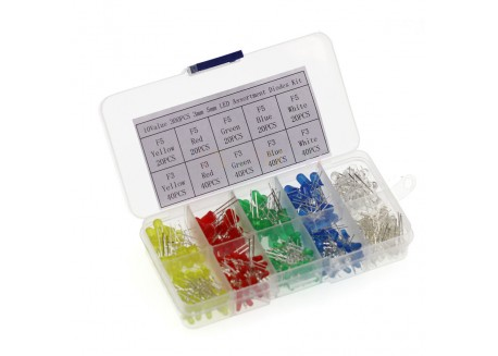 Pack de LED 300 unidades 3/5mm