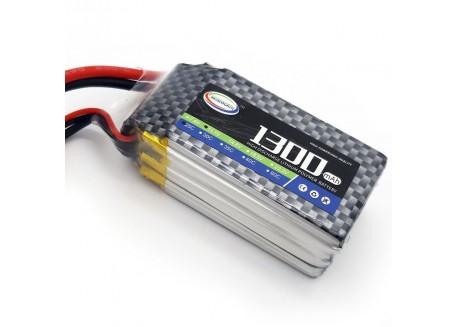 Batería Lipo 1300mAh 3S 25C, 11.1V - XT60