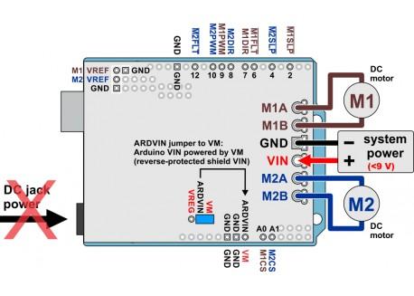 Motor shield Dual G2 - 18A para Arduino