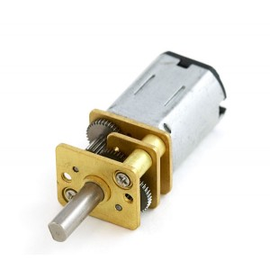 Motor Micro Metal DC con reductora 298:1