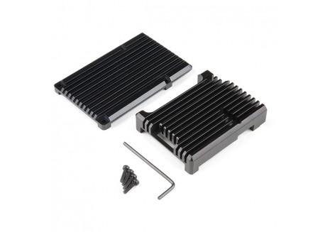 Disipador de aluminio para Raspberry Pi 4 - Negro