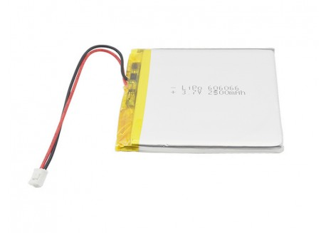 Batería LiPo 2500mAh 606066 / 3.7V