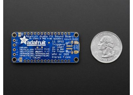 Adafruit Audio FX con amplificador 2+2W
