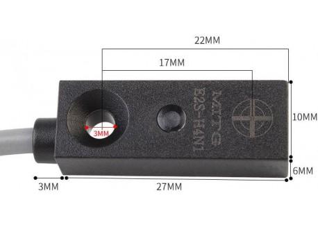 Sensor de proximidad inductivo metales E2S-H4N1