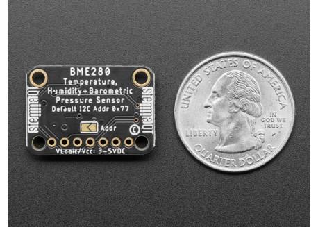 Sensor de temperatura, humedad y presión BME280