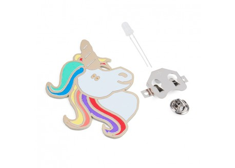 Kit Unicornio LED - Aprende a soldar THT