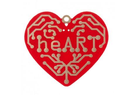 Kit corazón heART - Aprende a soldar SMD