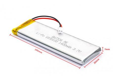 Batería Lipo 1400mAh 3.7V