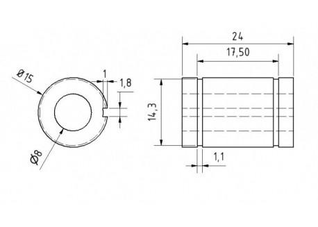 Dimensiones LM88U