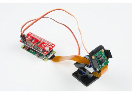 Kit Pan/Tilt con servos para Raspberry Pi