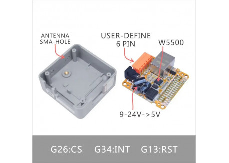 M5Stack módulo Ethernet LAN W5500