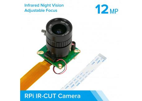 Cámara con visión nocturna y lente CS (IMX477)