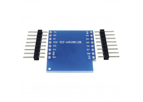 RGB LED Shield WS2812B para Wemos D1 mini
