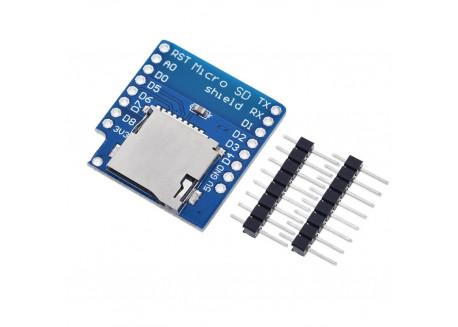 Shield Micro SD para WeMos D1 mini