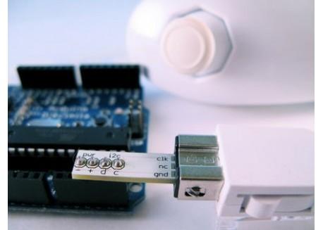 Adaptador Wiichuck para Arduino