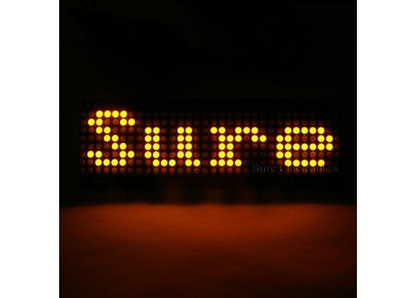 Matriz de LED Sure 8x32 - Rojo