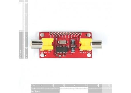 Sistema OSD con MAX7456