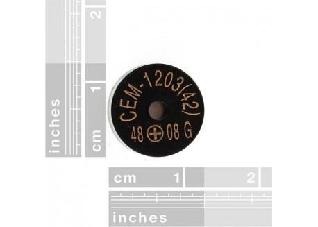 Zumbador Piezo 12mm