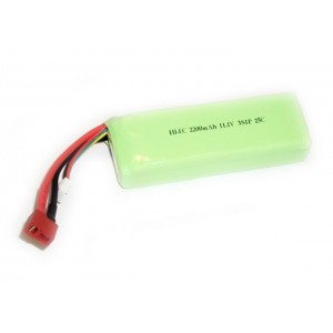 Batería LiPo 2200mAh / 11.1V 25C